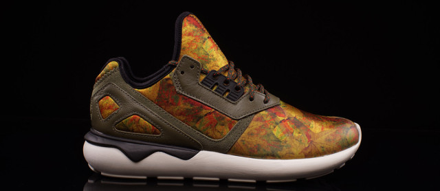 Adidas Originals Tubular Leaf Camo