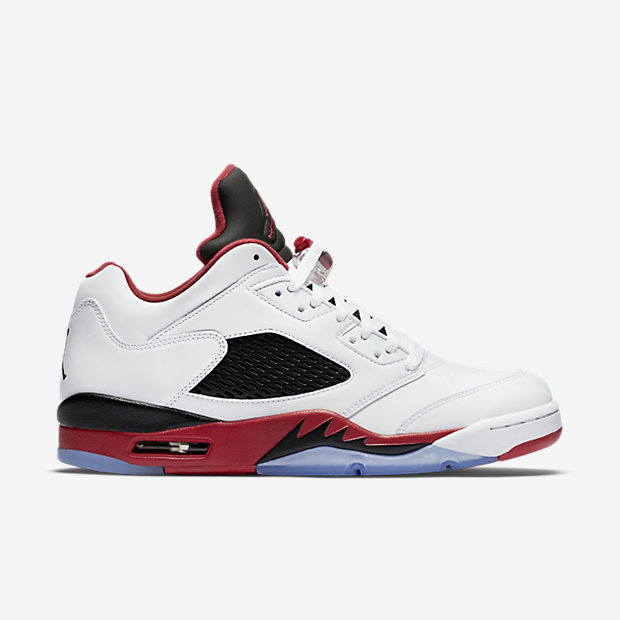 """The Air Jordan V Retro Low """"Fire Red"""" are available now for  175.00 with  Free Shipping bb85b2240"""