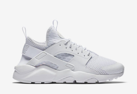 "on sale 6f72a 9a42d The Nike Air Huarache Ultra Breathe ""Whiteout"" are available now for  130.00  with Free Shipping"