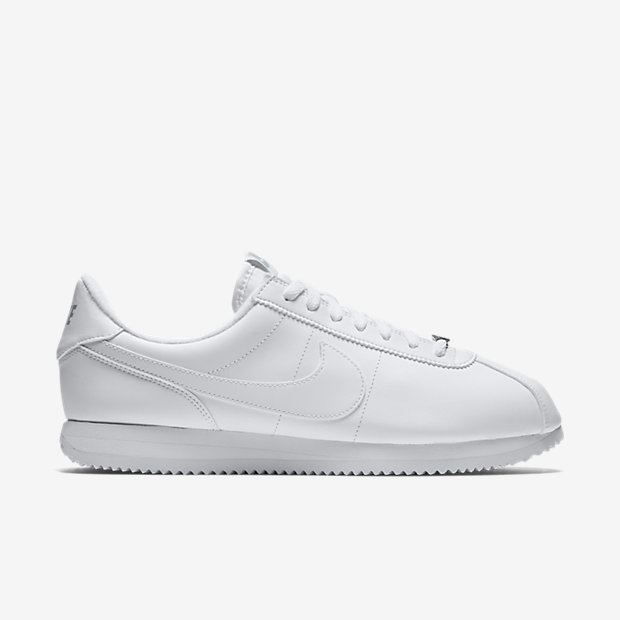 "cortez. THE NIKE CORTEZ ""WHITE"" LEATHER IS AVAILABLE NOW FOR $39.98 WITH FREE  SHIPPING"
