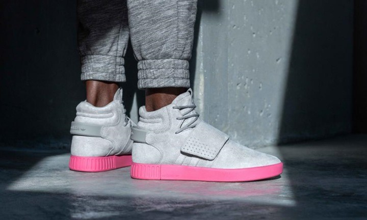 Adidas Tubular Invader Strap Flat White BB 5038 Sneaker District