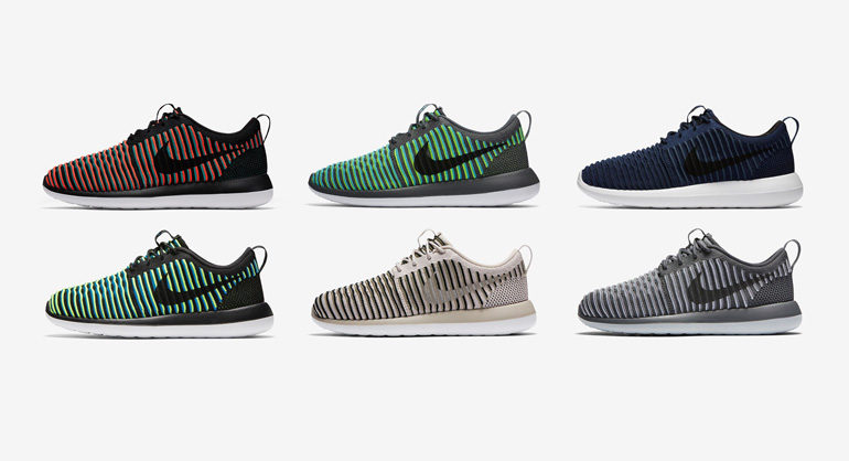 Nike Roshe Two Flyknit 365 Shoes $70 Brad's Deals