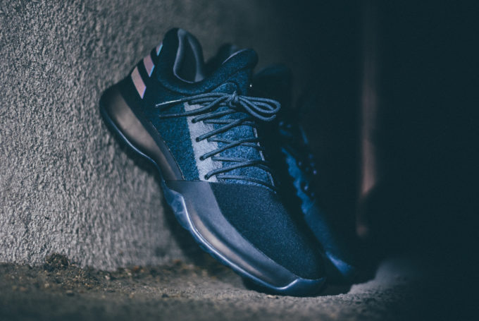 """24572f713166 ADIDAS JAMES HARDEN VOL. 1 """"XENO BLACK OPS""""   Sneaker Steal"""