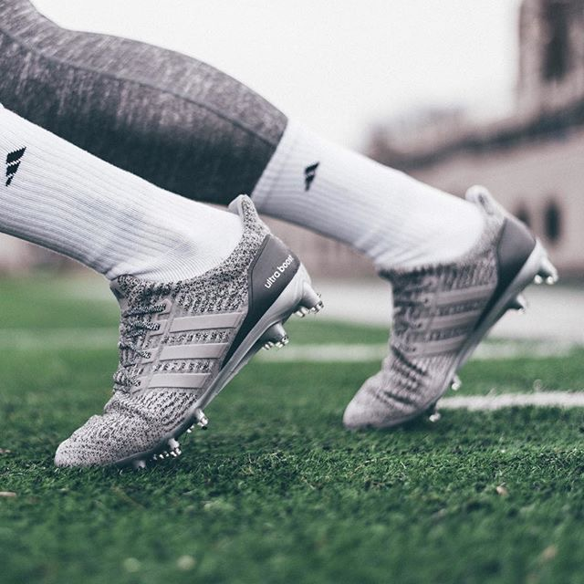 """The Adidas Ultra Boost 3.0 """"Silver"""" Cleats are available now for  179.99  with Free Shipping 8e3c56608289"""