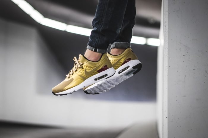 "size 40 681f5 b5065 The Nike Air Max Zero QS ""Metallic Gold"" are available now for  130.00 with  Free Shipping"