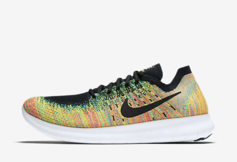 "a1cdbbf78fad The Nike Free RN Flyknit 2017 ""Multi-Color"" are available now for just   90.00 with Free Shipping"