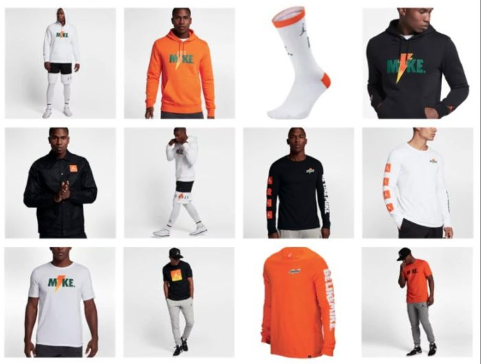 """79692b941f66bf The Air Jordan x Gatorade """"Like Mike"""" Collection is available now for  purchase with Free Shipping"""