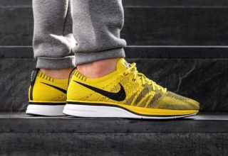 "2c508ff49104 NIKE FLYKNIT TRAINER ""BRIGHT CITRON""  105.00. Posted by sneakersteal ..."