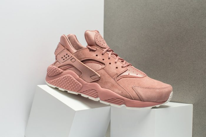 "100% authentic afb06 4f10d The Nike Air Huarache Premium ""Rose Suede"" are available now for  119.99  with Free Shipping"