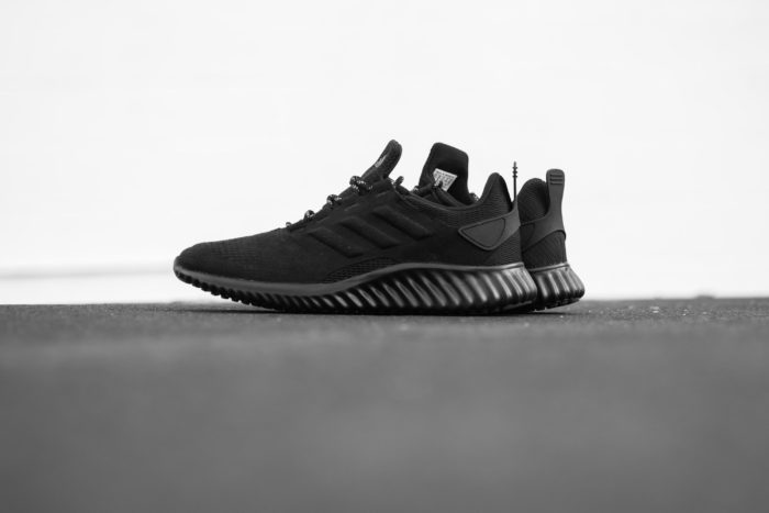 "premium selection 6acce 7124d ADIDAS ALPHABOUNCE CR ""TRIPLE BLACK"" 59.98"