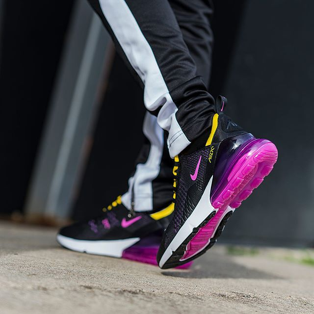 "NIKE AIR MAX 270 ""HYPER GRAPE"" $120.00 FREE SHIPPING"