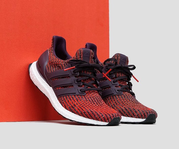 "best website d8282 a4651 ADIDAS ULTRA BOOST 4.0 ""NOBLE RED"" $144.00 FREE SHIPPING ..."