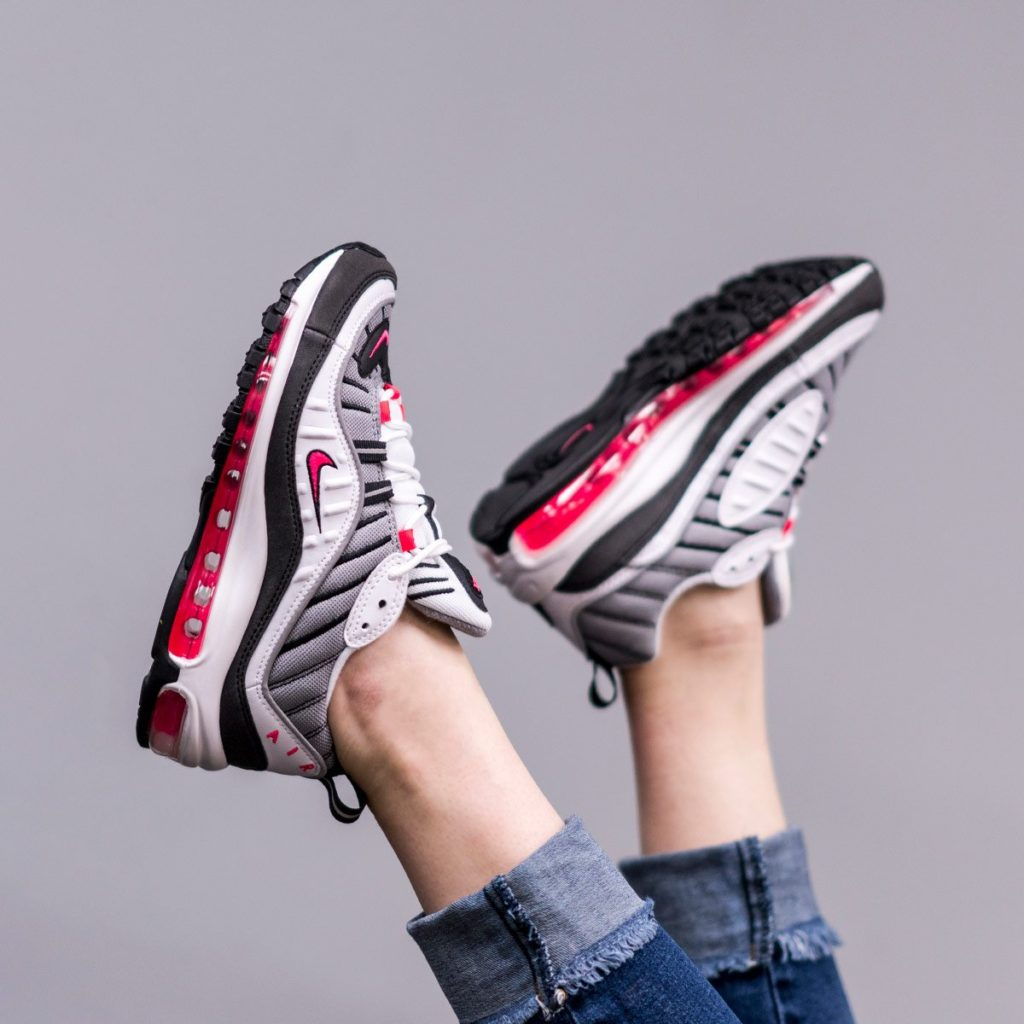 "check out 02457 9556d WMNS NIKE AIR MAX 98 ""SOLAR RED"" 