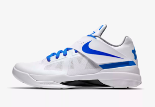"""0fe996224a5e9 NIKE KD IV QS """"THUNDERSTRUCK"""". Posted by sneakersteal ..."""