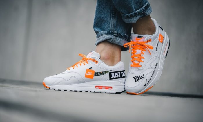"""e56b77bcd4be The Women s Nike Air Max 1 QS """"Just Do IT"""" are available now for  130.00  with Free Shipping"""