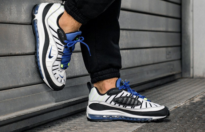 AIR MAX 98 RACER BLUE (640,744 103) white X レサーブルー US10(28cm) made in NIKE (Nike) 2018