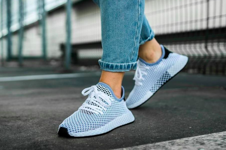 """The Women s Adidas Originals Deerupt """"Chalk Blue"""" are available now for  just  37.49 with Free Shipping 10b2dca11"""