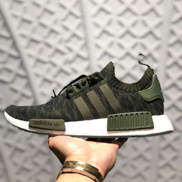 "the best attitude e2b7f 5b9ee The Adidas NMD R1 Primeknit ""Night Cargo"" are available now for just  55.99  with Free Shipping"