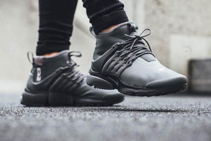 """new style aeb60 cfc2e The Women s Nike Air Presto Mid Utility """"Grey   Reflect"""" are available now  for just  43.98 with Free Shipping"""