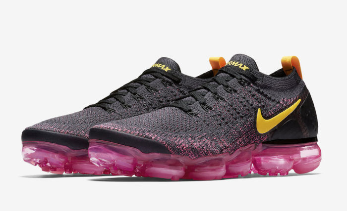 "best website f8c4f d4049 NIKE AIR VAPORMAX FLYKNIT 2 ""BLACK / PINK"" $134.98 FREE ..."