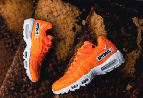 """b7ff288911 The Nike Air Max 95 SE """"Just Do It"""" are available now for just $136.00 with  Free Shipping"""