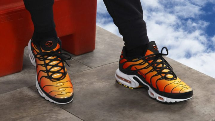 "low priced 66e24 fa9c6 NIKE AIR MAX PLUS OG ""SUNSET""  120.00 FREE SHIPPING"