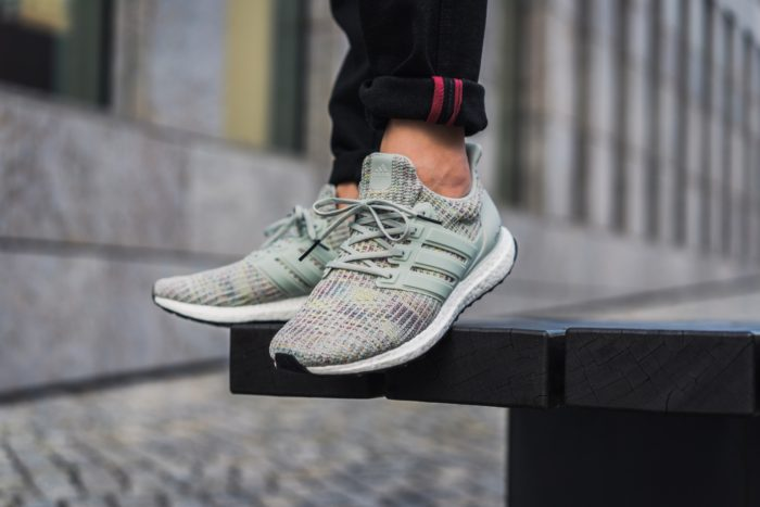 """b7a784252cc871 The Adidas Ultra Boost 4.0 """"Grey Multi-Color"""" are available now for just   110.00 + Shipping"""