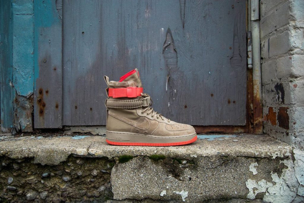 new style 2b758 525f8 Nike Special Forces AF1  Khaki Rush Coral  Sale Price   71.19 (Retail  180)  + FREE SHIPPING use code GETALITTLE at checkout