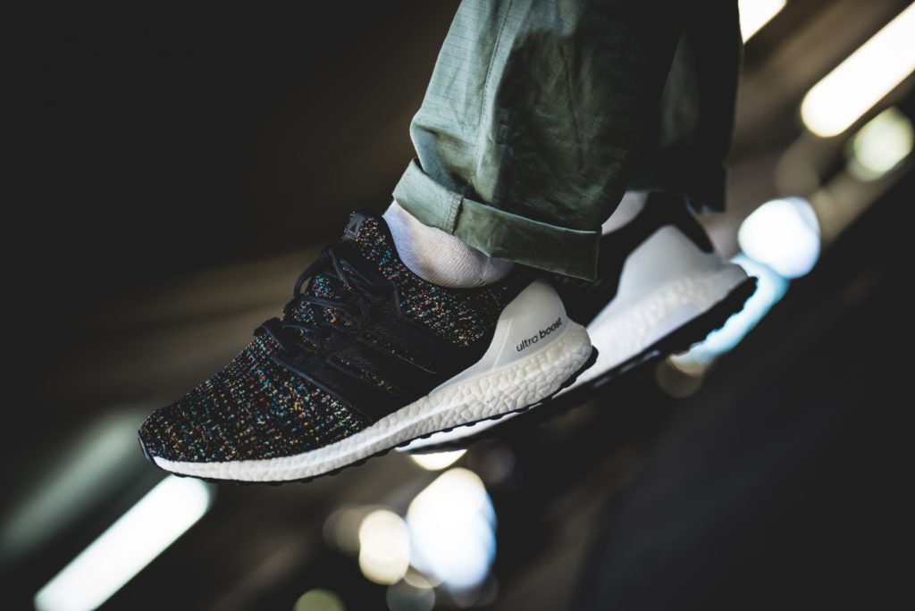 2bf6dc1882d9e adidas UltraBOOST 4.0  Black Multicolor  Sale Price   111.98 (Retail  180)  + FREE SHIPPING use code SP20 at checkout