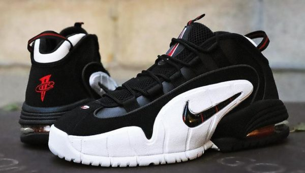 """90131f45363a NIKE AIR MAX PENNY """"BLACK   RED""""  89.58 FREE SHIPPING"""