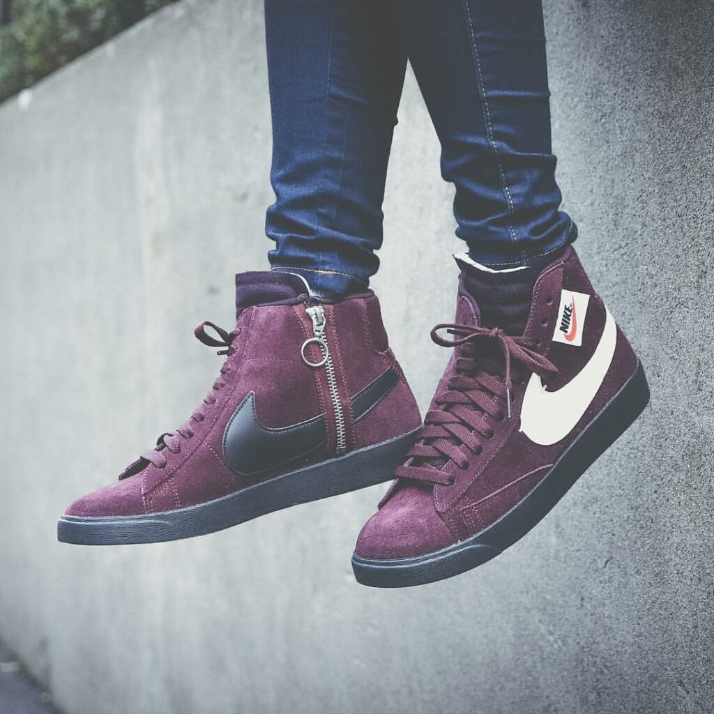 best website 6a76e 6a373 Women s Nike Blazer Mid Rebel  Burgundy Crush  Sale Price   47.98 (Retail   100) + FREE SHIPPING use code SAVE20 at checkout