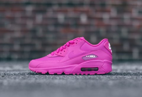 "6d2139da42 The Nike Air Max 90 ""Laser Fuchsia"" GS sizes are available now for just  $76.50 with Free Shipping"