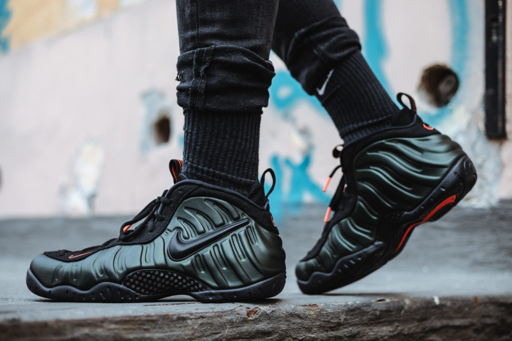 """new product c0e0c ff5bf NIKE AIR FOAMPOSITE PRO """"SEQUOIA"""" $159.00 