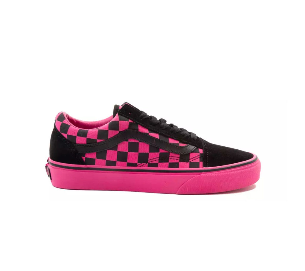 "96bf19de37e2 Vans Old Skool Checkerboard ""Hot Pink""  59.99 + FREE SHIPPING"