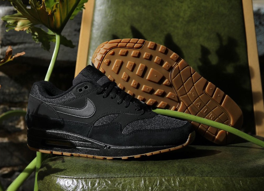 "buy online af97a 68be4 NIKE AIR MAX 1 ""BLACK   GUM""  71.99 FREE SHIPPING"