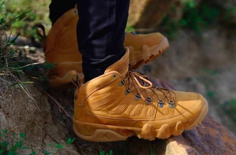 860f6a34c40 Air Jordan 9 Retro NRG Boot 'Wheat' S115.98 Free Shipping use code L3XBR1MC  at checkout
