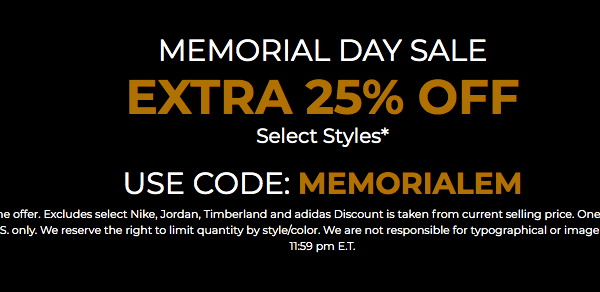f996b2b1bc83e1 JIMMY JAZZ 25% OFF MEMORIAL DAY SALE