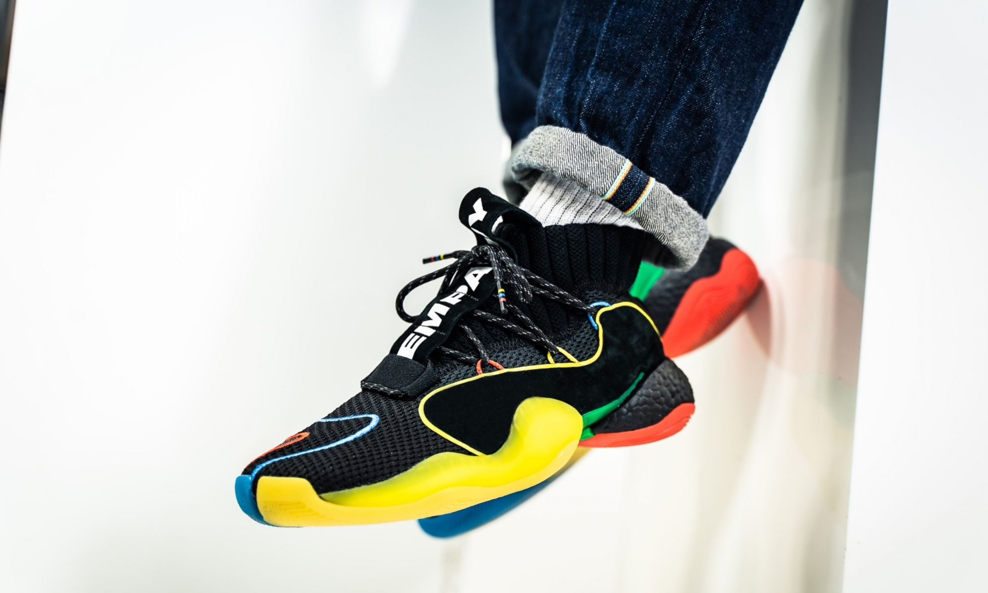 newest e6006 a7506 PHARRELL X ADIDAS CRAZY BYW LVL $124.50 | Sneaker Steal