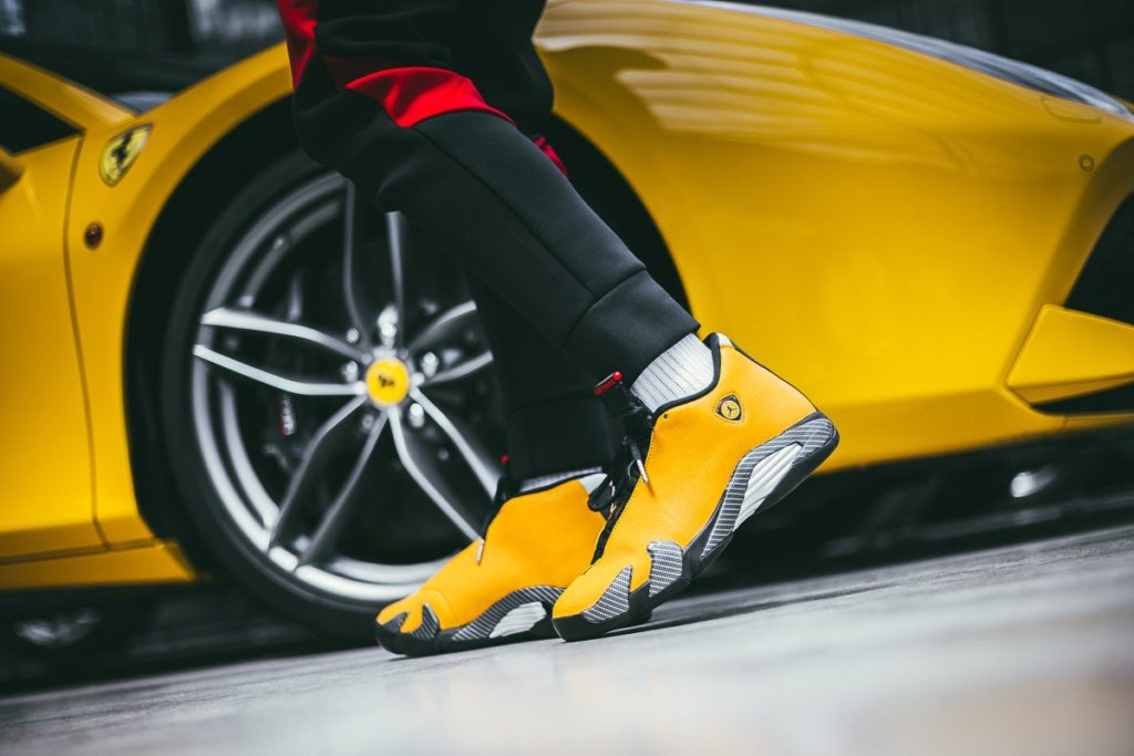 "super popular 90cae c8abb AIR JORDAN 14 RETRO SE ""REVERSE FERRARI"" 
