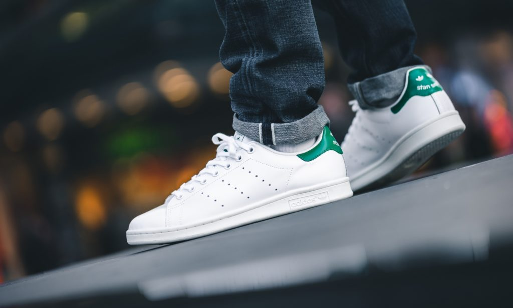"half off b63b5 28c24 ADIDAS ORIGINALS STAN SMITH ""WHITE / BOLD GREEN"" $40.00 FREE ..."