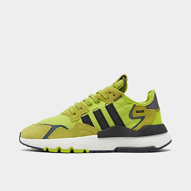 "ADIDAS ORIGINALS NITE JOGGER ""SOLAR YELLOW"" $45.00"