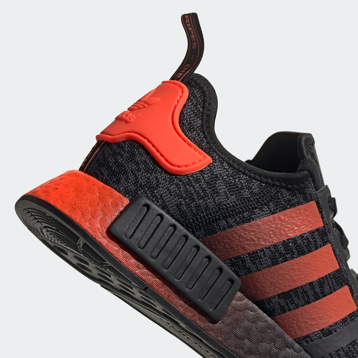 Adidas Nmd R1 Core Black Solar Red 52 49 Free Shipping